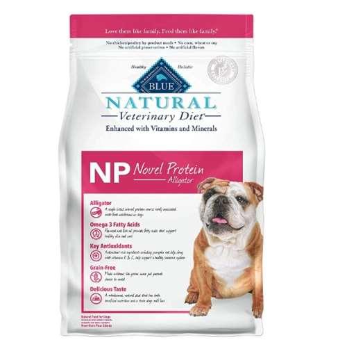 Blue Buffalo Natural Veterinary Diet Novel Protein-Alligator for Dogs