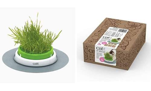 Catit Senses 2.0 Grass Planter + Cat Grass Seeds