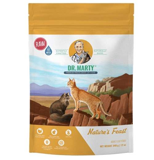 Dr. marty's freeze dried cat food