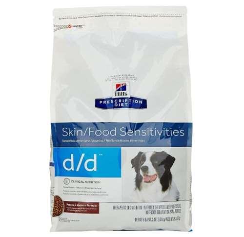 Hill's Pet Nutrition D Skin Food Sensitivities Potato & Venison Formula Dry Dog Foo