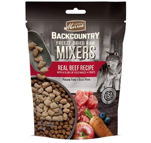 Merrick Backcountry Grain Free Dried Raw Meal Mixer Dog Food