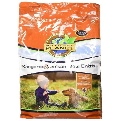 Natural Planet Dog Food-Kangaroo & Venison