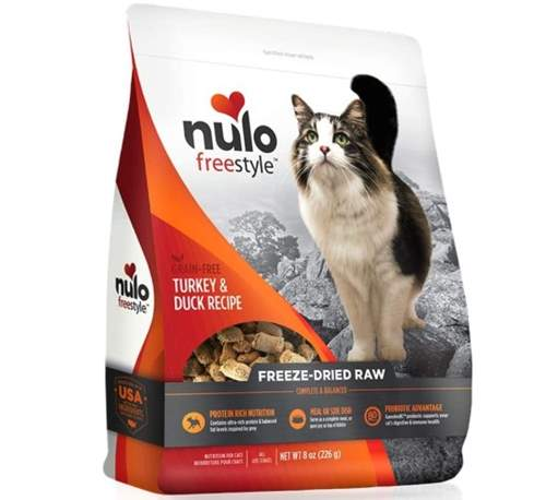 Nulo Freestyle Freeze-Dried Raw Duck & Turkey Recipe Cat Food