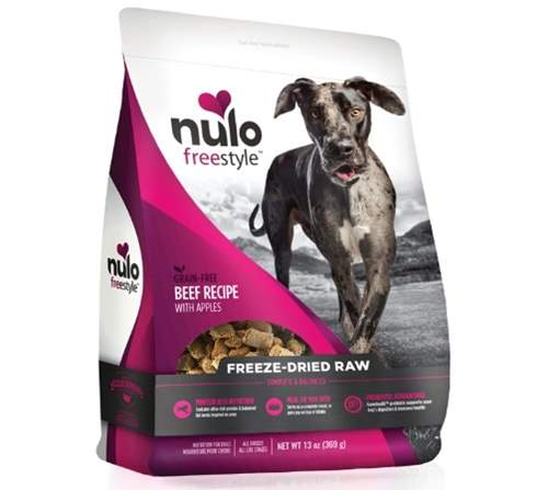 Nulo Freestyle Grain-Free Beef Recipe With Apples Freeze-Dried Raw Dog Food