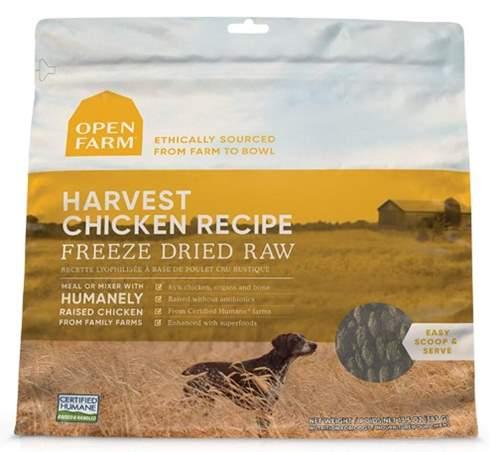 Open Farm Freeze Dried Raw Dog Food - Chicken