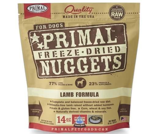 Primal Freeze Dried Dog Food Lamb Formula