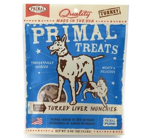 Primal Turkey Liver Munchies Freeze-Dried Dog & Cat Treats