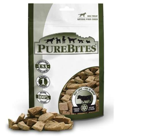 PureBites Beef Liver Freeze-Dried Treats for Dogs