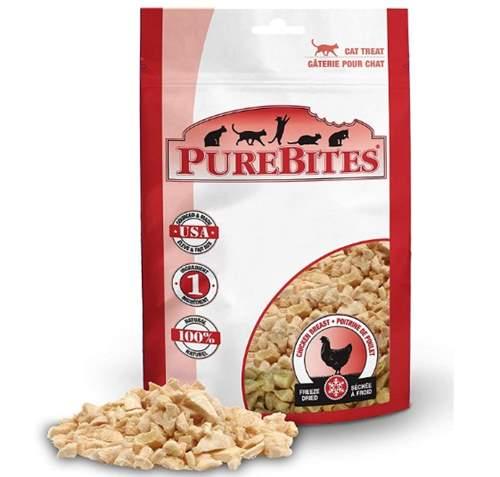 PureBites Chicken Breast Freeze-Dried Raw Cat Treats