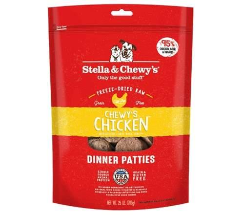Stella & Chewy's Freeze-Dried Raw Dinner Patties - Chew's Chicken