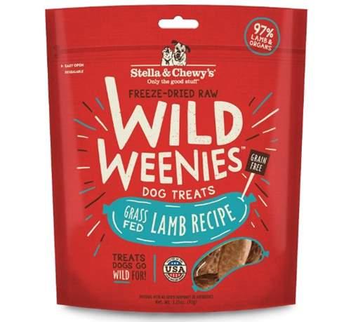 Stella & Chewy's Freeze-Dried Raw Wild Weenies Dog Treats