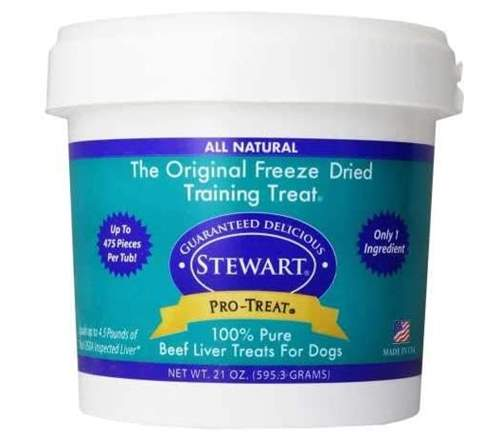 Stewart Pro Freeze Dried Beef LIver Dog Treats