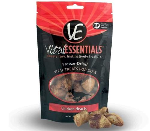 Vital Essentials Freeze-Dried Grain Free Limited Ingredient Dog Treats
