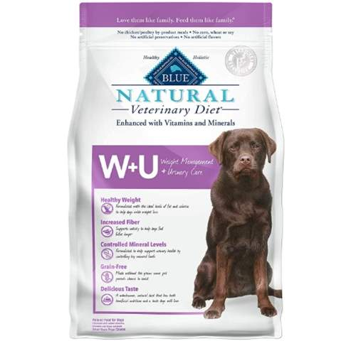 Blue Buffalo Natural Veterinary Diet Weight Management + Urinary Care for Dogs
