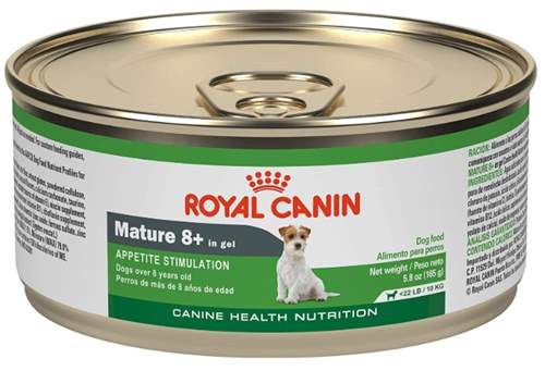 Royal Canin Mature 8+ in Gel Canned Dog Food – Appetite stimulation