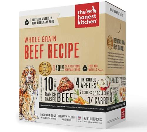The Honest Kitchen Dehydrated - Whole Grain Beef Recipe