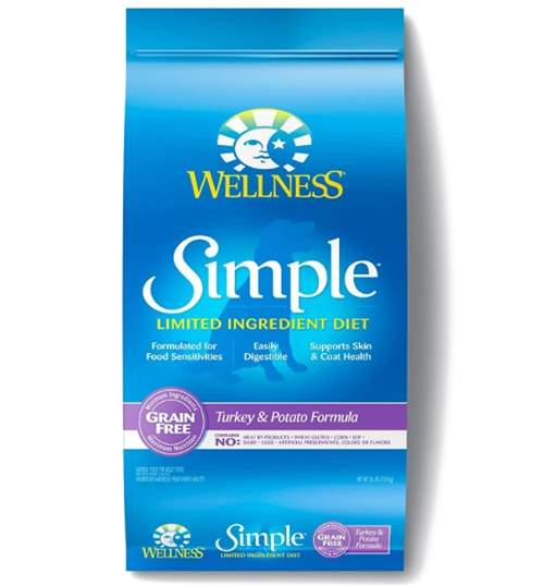 Wellness Simple Limited Ingredient Diet Grain-Free Turkey & Potato Formula Dry Dog Food